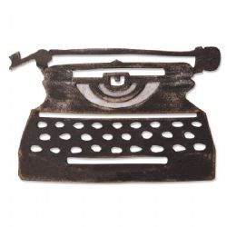664422 - Sizzix Bigz Die – Retro Type by Tim Holtz
